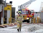 RECYCLING CENTRE FIRE MELBOURNE