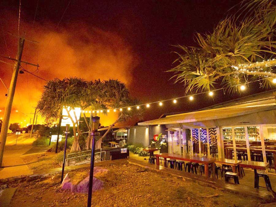 Πυρκαγιές NNO